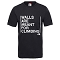 The North Face Walls Are For Climbing Tee - Tnf Black
