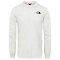 The North Face Simple Dome Tee LS - Tnf White