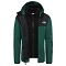 The North Face Elden Rain Triclimate Jacket Boy - Night Green