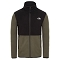 The North Face Tka Glacier Full Zip Jacket - New Taupe Green/Black