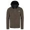 The North Face Kabru Fz Hoodie - New Taupe Green/Black
