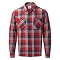Rab Dusker LS Shirt - Autumn Red Check