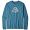 Patagonia L/S Live Simply Pocketknife Responsibili-Tee - MABL