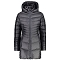 Campagnolo Coat Snaps Hood W - Graffite/Grey