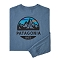 Patagonia Fitz Roy Scope Responsibili-Tee - Pigeon Blue