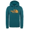 The North Face Surgent Hoodie - Fanfare Green Heather