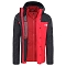The North Face Quest Triclimate Jacket - Red/Black
