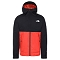 The North Face Millerton Jacket - Flare/Tnf Black