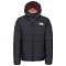 The North Face Reversible Perrito Jacket Girl - Tnf Black/Pink