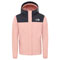 The North Face Resolve Reflective Jacket Girls - Pink Clay/Tnf Black