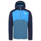 The North Face Stratos Jacket - Mallard Blue-Urban Navy-Clear Lake Blue