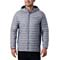 Columbia Powder Pass Hooded Jacket - Columbia Grey
