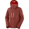 Salomon Highland Jacket - Goji Berry/White