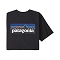 Patagonia P-6 Logo Respon Tee - Black
