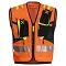Montura Workframe Operator Evo 2 Vest - Arancio Fluo/Giallo Fluo