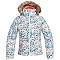 Roxy Jet Ski Jacket Girls - Bright White Izi