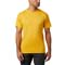 Columbia Zero Rules Ss Shirt - Bright Gold
