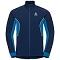 Odlo Aeolus Jacket - Est Blue/Direc Blue