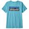 Patagonia P-6 Logo Organic Crew T-Shirt W - Iggy Blue