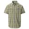 The North Face Pine Knot Shirt - Agave Green Plaid