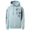 The North Face Himalayan Bottle Source PO Hoodie W - Tourmalin Blue