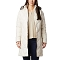 Columbia Icy Heights Mid Length Down Jacket - White
