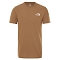 The North Face Walls Are Meant for Climbing Tee - Utility Brown